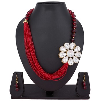 Red emerald necklaces