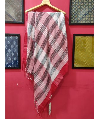 White Bengal Cotton Handloom saree with blouse
