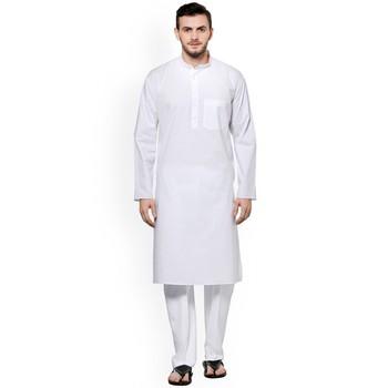 White plain Cotton men pyjamas