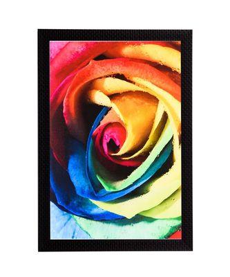 Colorful Rose Satin Matt Texture UV Art Painting
