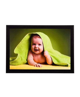 Cute Baby Satin Matt Texture UV Art Painting