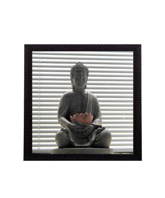 Divine Lord buddha Satin Matt Texture UV Art Painting