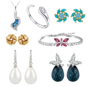 Multicolor crystal jewellery