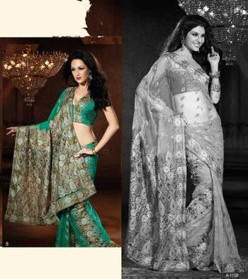 Designer Sari Nimmy 6011B