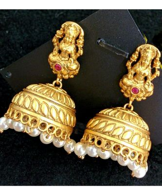 Gorgeous antique laxmi earrings