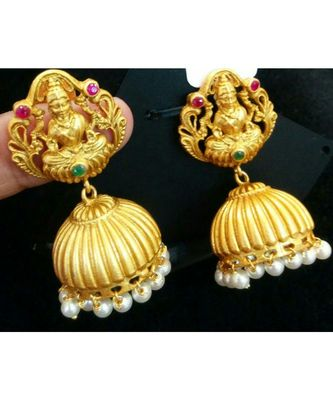Gorgeous Antique Laxmi Earrings