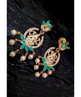 and embroled with laxmi dangler drops