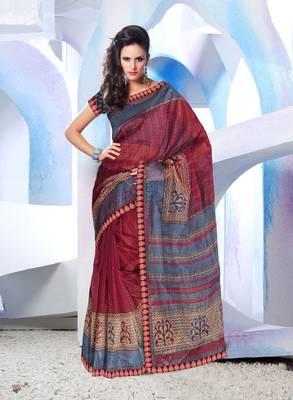 Designer SuperNet Sari magic1009