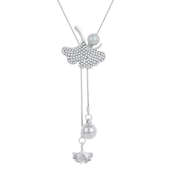 Silver cubic zirconia necklaces
