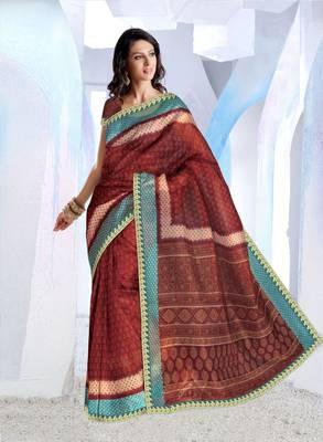 Designer SuperNet Sari magic1012