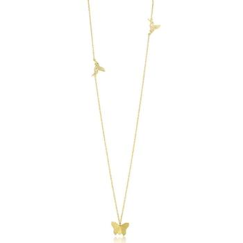Gold pearl pendants