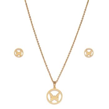 Gold diamond pendants