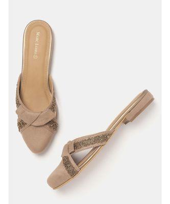 Women  Beige Heels
