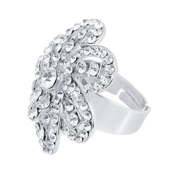 White diamond rings