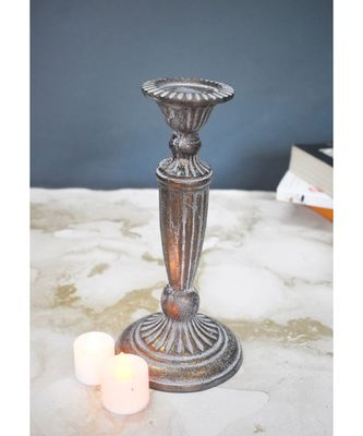 Antique Copper Candle Holder