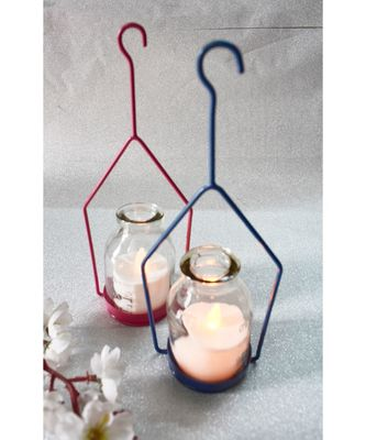 Hanging Hut Tea light Holder