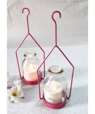 Hanginh Hut Tea light Holder
