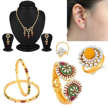 Red diamond jewellery