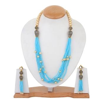 Grey Onyx Necklace Sets