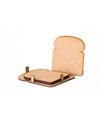 Bread Shaped Coasters ( Set Of 4 )