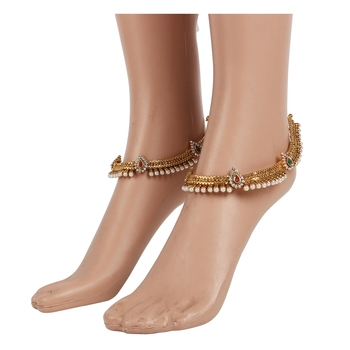Red anklets