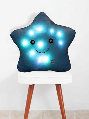 Blue ROSENICE LED Lighting Pillow Glowing Star Pillow Throw Pillow Bedroom Decorative