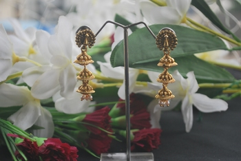 Oxidized navratri special earring sets