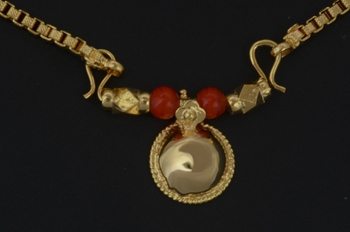Red mangalsutra