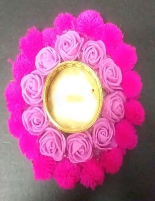 Beautiful Artificial rose flowers tlight/tealight candle holder