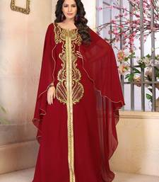 Woman Georgette Kaftan Dress