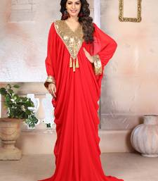 Woman Georgette Plus Size Kaftan