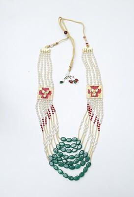Red diamond necklaces