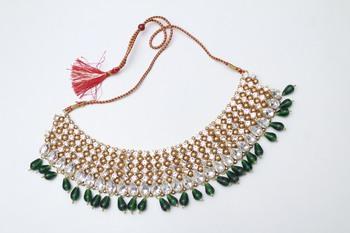 Green diamond necklaces