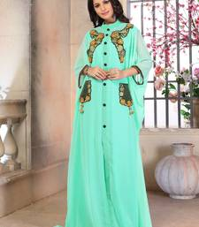Woman Georgette Partywear Dubai Dress
