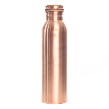 Pure Copper Bottle for regular use of Drinking water, Yoga & Health Benefits, 800 ML