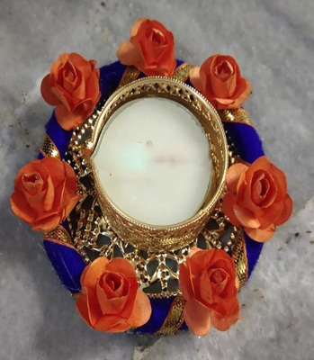 blue Beautiful Candle holder
