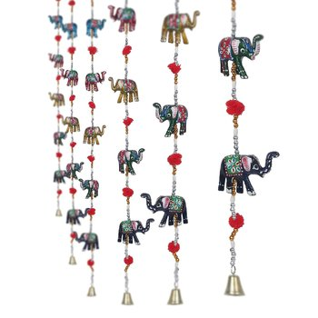 Rajasthani Elephant Door Hanging Home Decor- Set of 2