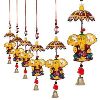 Decorative Ganesh door Hanging- Set of 4