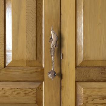 1 Pc Fish Shape Brass Door Handle