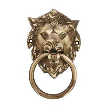 Victorian style Lion Shape Brass Door Knocker