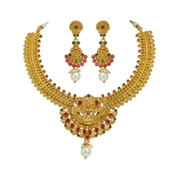 GOLD PLATED NACKLACE SET