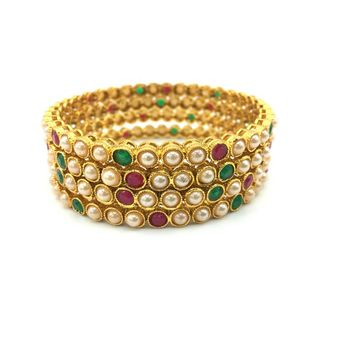 Multicolor   beaded jewellery bangles