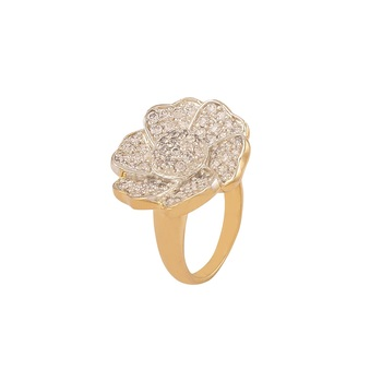 Heena Trendy Floral collection Ring >> HJRN24 <<