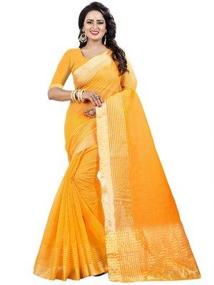 Lime plain net saree with blouse