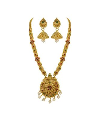 GOLD PLATED LONG SET