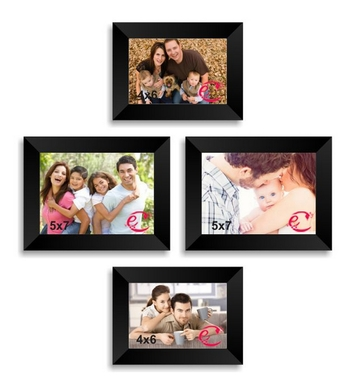 Memory Wall Collage Photo Frame Set of 4 individual photo frames