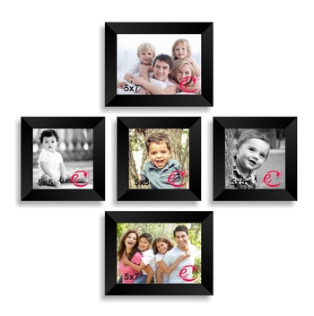 Memory Wall Collage Photo Frame Set of 5 individual photo frames