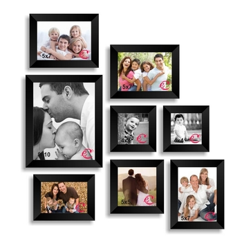 Memory Wall Collage Photo Frame Set of 8 individual photo frames