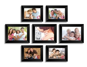 Memory Wall Collage Photo Frame Set of 7 individual photo frames