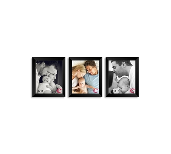 Memory Wall Collage Photo Frame Set of 3 individual photo frames